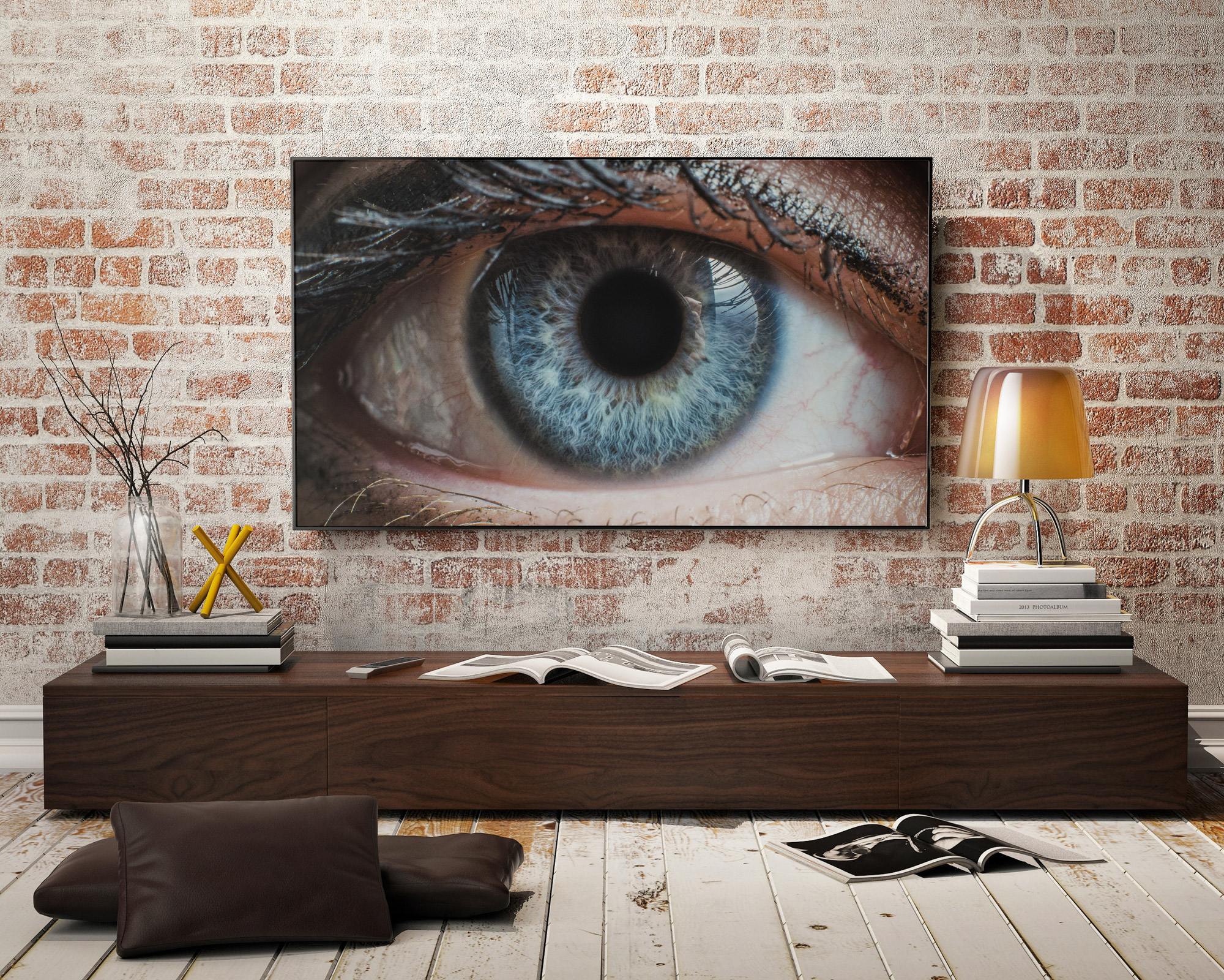 A TV Watching You
