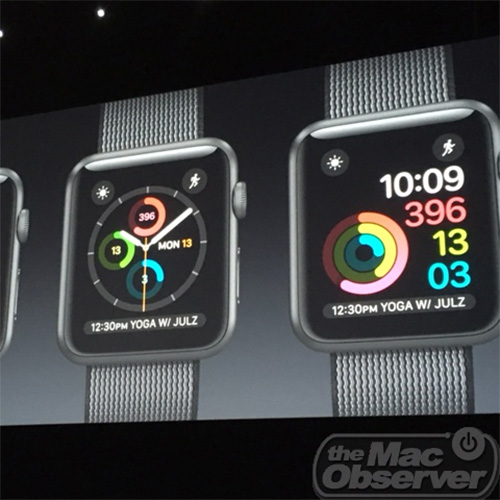 watchOS 3's new fitness tracking interfaces