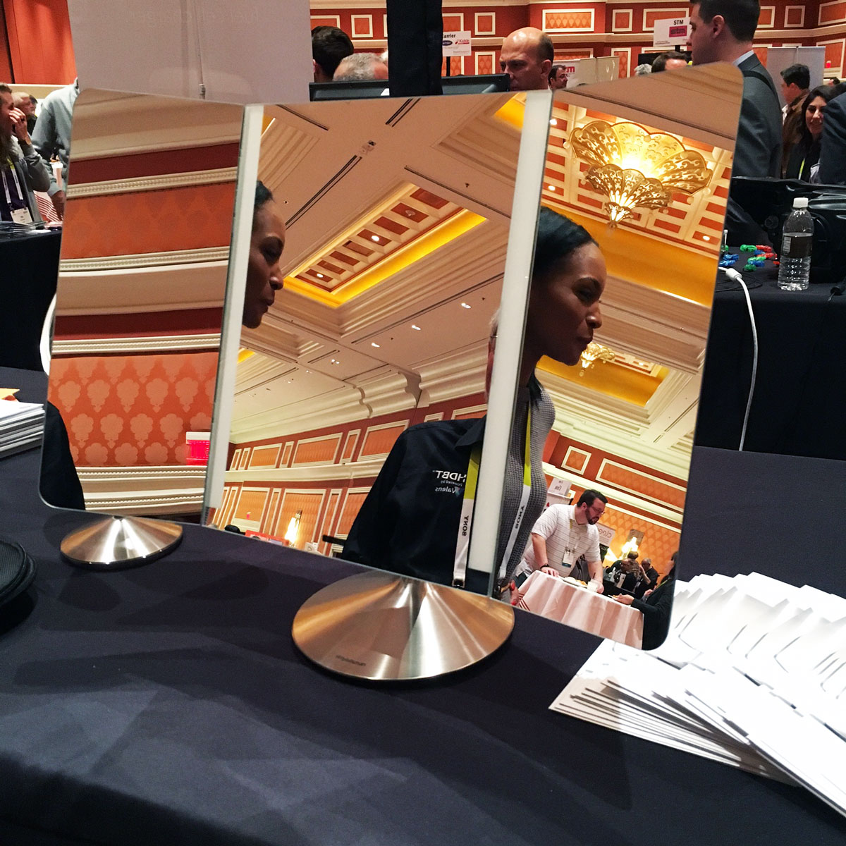 Wide-View Sensor Mirror at CES