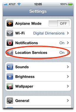 location services on iphone ios 4 3 3 clearing your iphone location cache the mac 2962