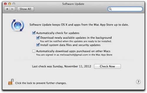 OS X: Finding Mountain Lion's Installed Software List – The