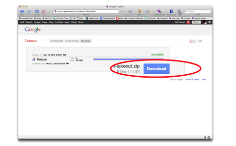 How to Save Your Google Reader RSS Feeds & Data - The Mac ...