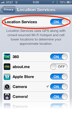 You can disable Location Services system-wide