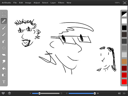 ArtStudio for iPad packs in art tools, Photoshop-like effects, and support for lots of pressure sensitive styluses