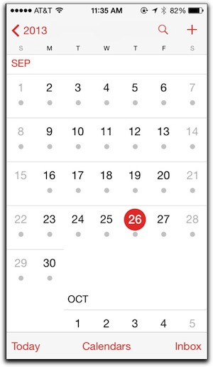Weekly Calendar View Iphone : Tips for using ios s calendar on your iphone the mac