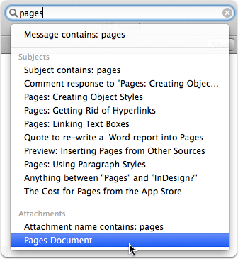 Mavericks Search By Mail Attachment Type The Mac Observer