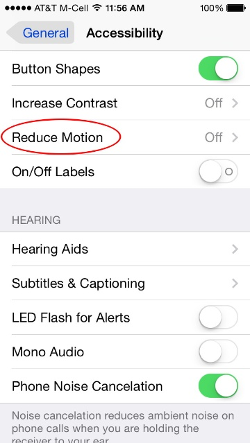 iOS 7 1: Turn Parallax Off But Allow Other Motion – The Mac Observer