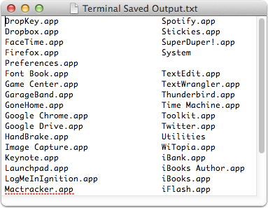 how to open a text from terminal mac
