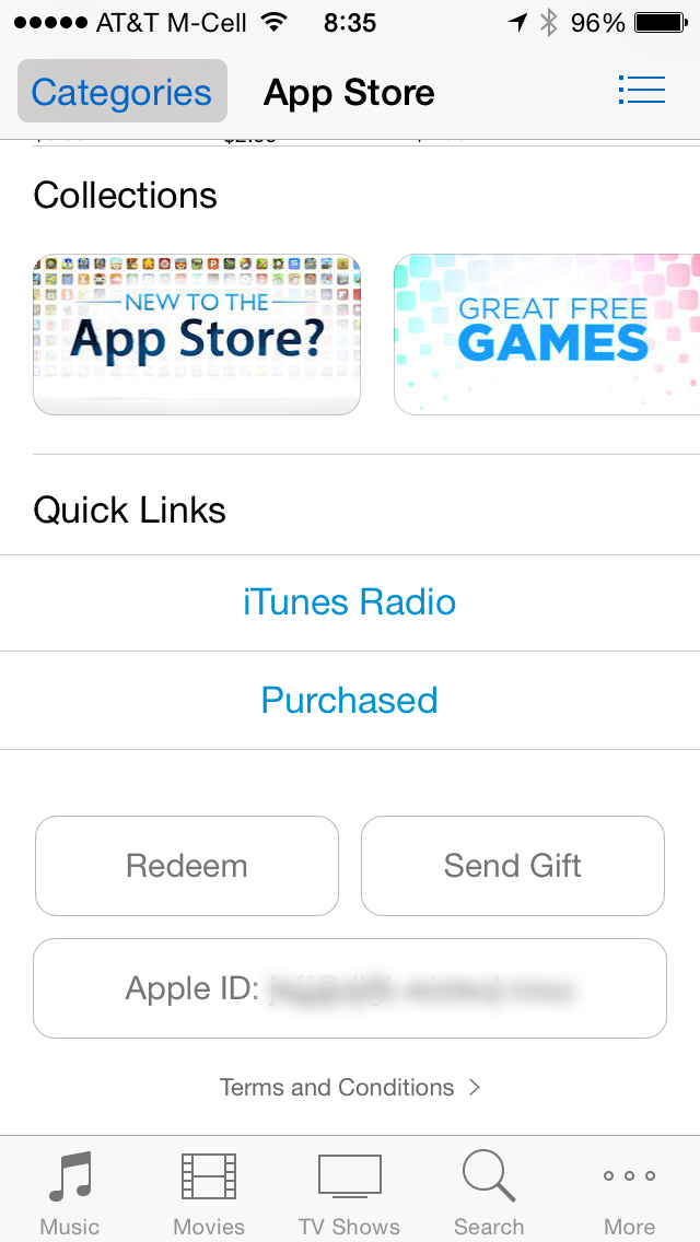 Tap Redeem to add iTunes Pass to Passbook