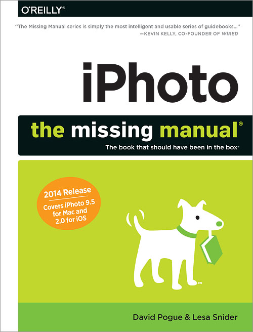 Book Cover Photography Tips ~ Iphoto the missing manual is both informative and