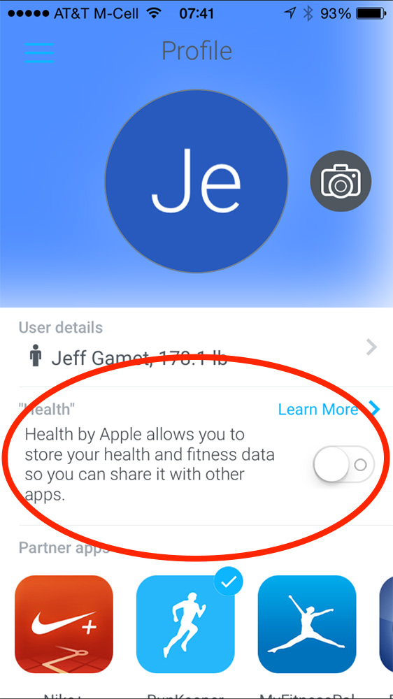 Some apps, like Withings, let you enable Health support instead of asking at launch