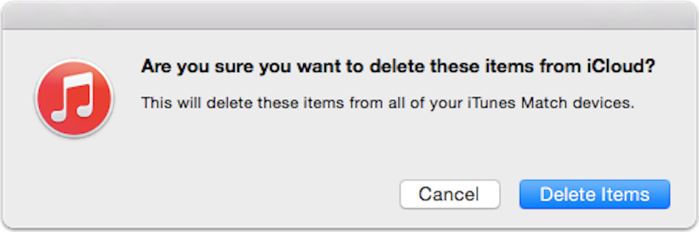 how to delete a song from playlist on itunes