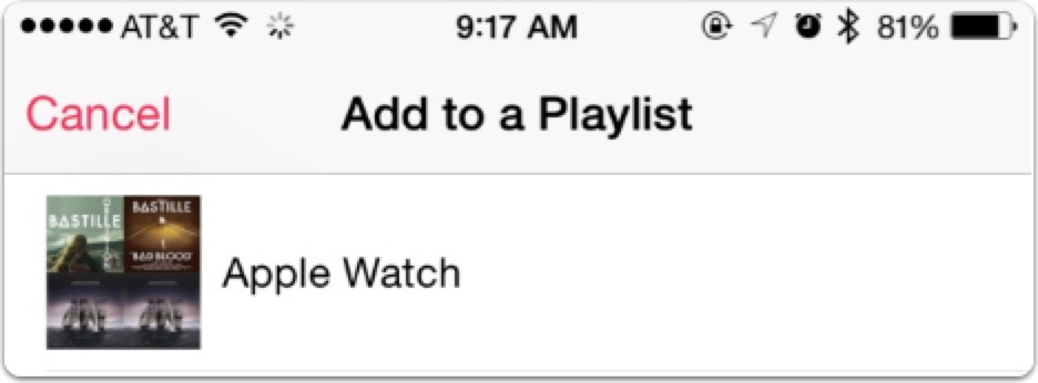 how to add apple playlist in blackplayer