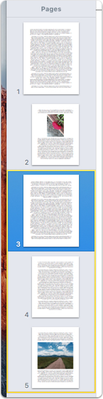 how to delete a page off a pdf mac