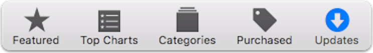 Check for app updates in the Mac App Store app