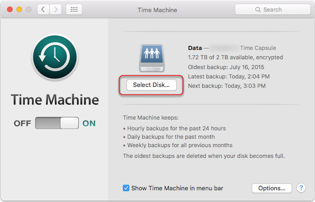 OS X: Encrypting Time Machine Backups – The Mac Observer