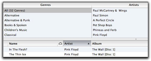 how to create a new itunes library on mac