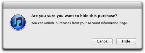 iTunes: Hiding Purchased Items – The Mac Observer