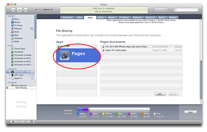 ipad transferring files with itunes the mac observer