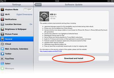 iOS 5 lets you update the OS without needing iTunes