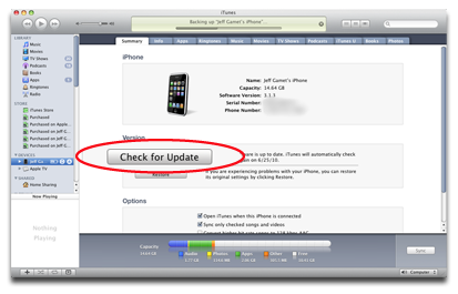 itunes iphone update itunes to check for ios updates the mac observer 12533