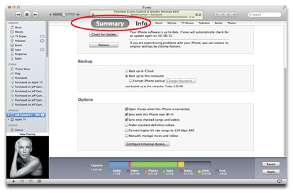 how to make iphone automatically sync with itunes