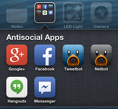 Antisocial Social Networking Apps