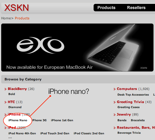 XSKN Product Page