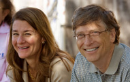 Melinda Gates & Bill Gates