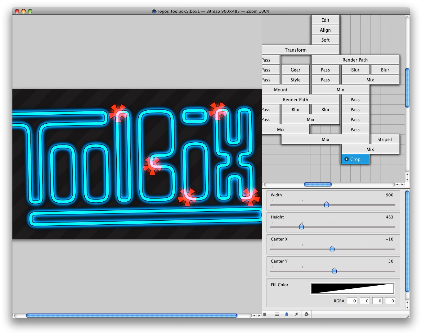 GraphicsToolbox Screenshot