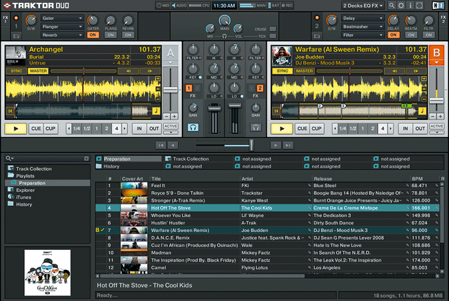 TRAKTOR DUO Screennshot