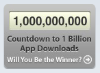 Billion Download Counter
