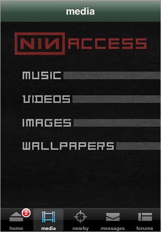 NIN: Access screenshot