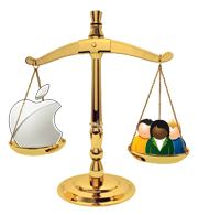 Apple versus...