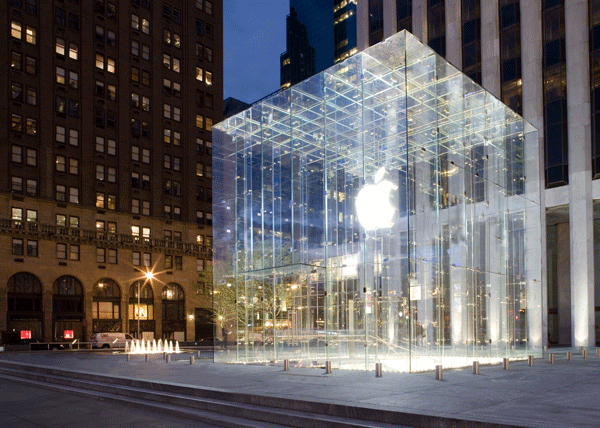 """The """"Old"""" Fifth Avenue Apple Store"""