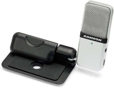 Go Mic with its Table Stand