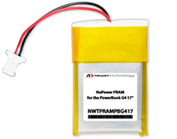 NewerTech NuPower PRAM/Clock Battery
