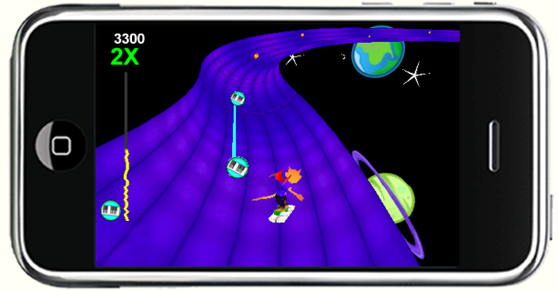 iMP: Surf the Music Screenshot