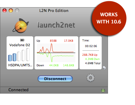 Launch2Net Screenshot
