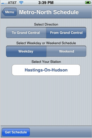StationStops Screenshot