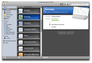 1Password for the Mac