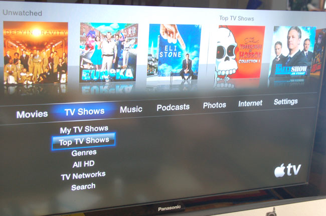 Apple TV 3.0 Screenshot