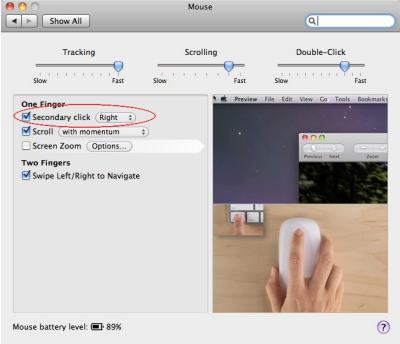 Enabling Two Button Mode on Apple Magic Mouse – The Mac Observer