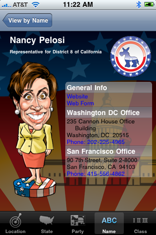 Bobble Rep entry for Nancy Pelosi