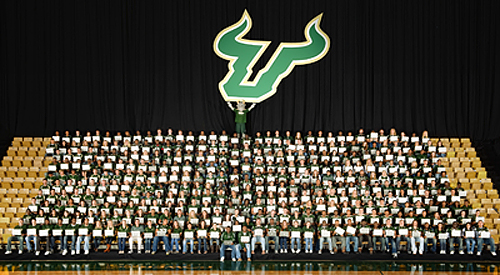 USF Student-Athletes & Their MacBook Pros