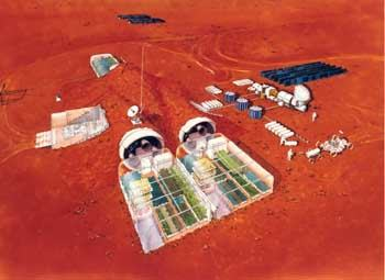 Martian Colony