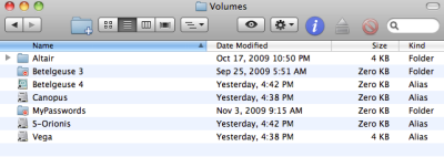 Volume Suffixes in Finder