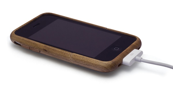 TradCase Teak from the front and side