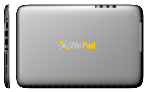 WePad Rear & Side View