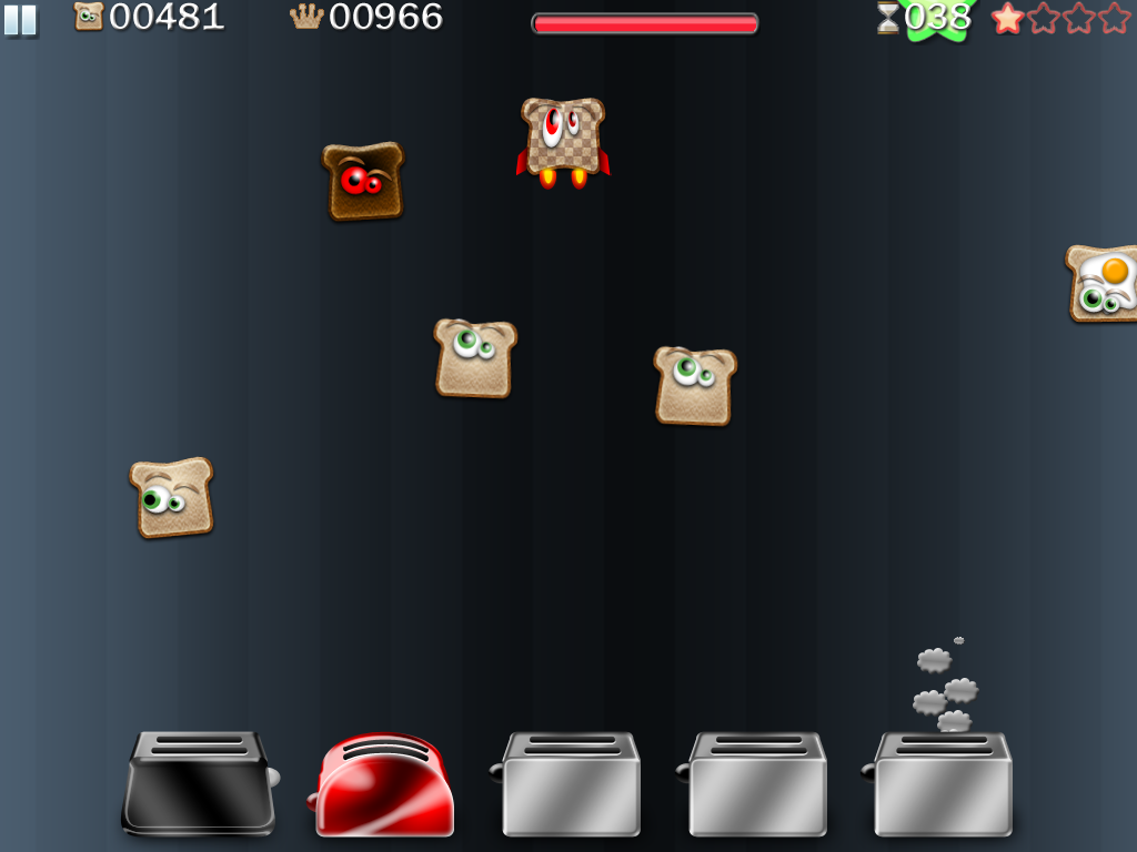 Toast Shooter HD Screenshot
